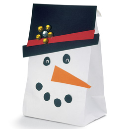 Crafts and Ideas For The Christmas Season} #2: snowman t bag