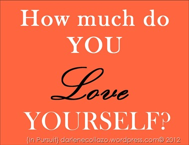 1- How Much Do You Love Yourself