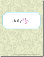 Family Binder Template, Life Projects1