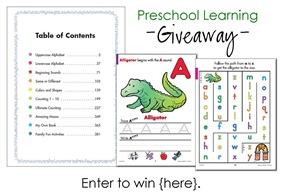preschool giveaway