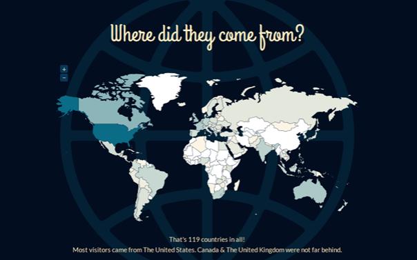2012 blogging map