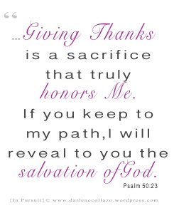 Psalm 50-23