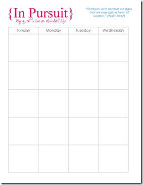 Monthly Planner Wide 1
