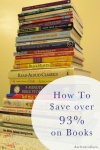 Save on books