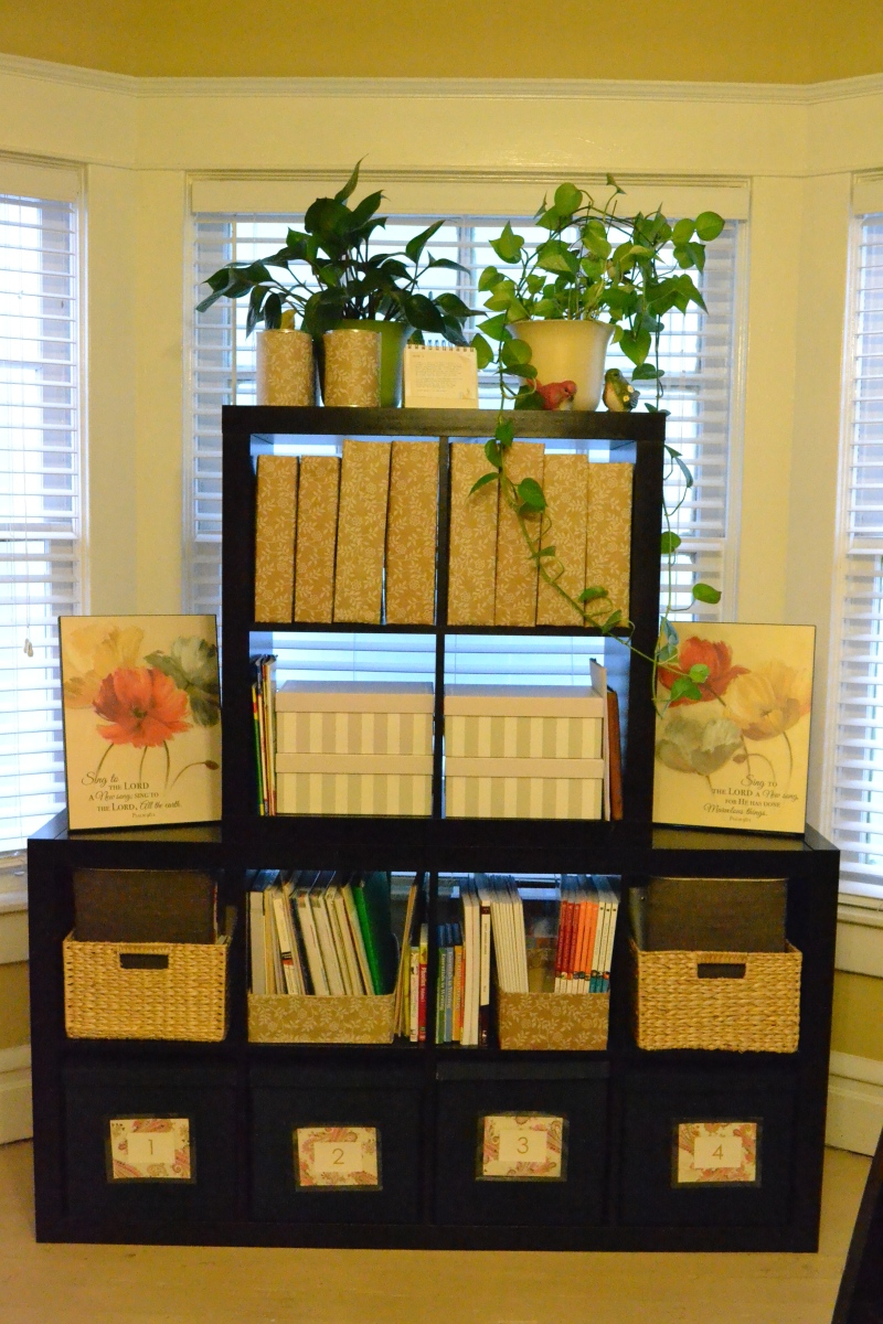 plans to build a cube bookcase