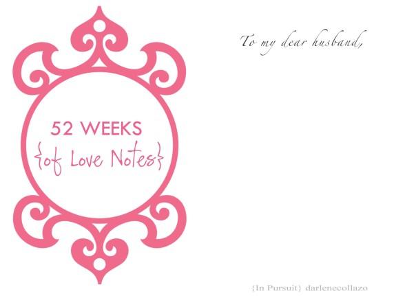 52 Weeks 2014 blank template