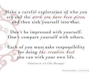 Galatians 6-4-5